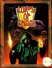 Box cover for Lords of Chaos on the Commodore 64.