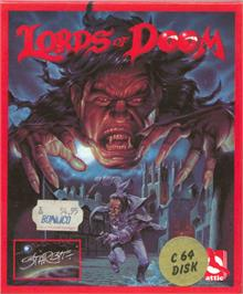 Box cover for Lords of Doom on the Commodore 64.