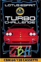 Box cover for Lotus Esprit Turbo Challenge on the Commodore 64.