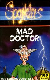 Box cover for Mad Doctor on the Commodore 64.