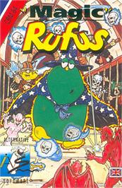 Box cover for Magic Rufus on the Commodore 64.