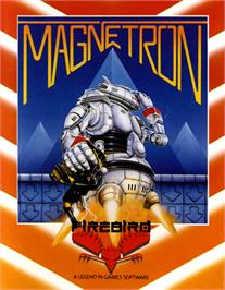 Box cover for Magnetron on the Commodore 64.