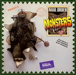 Box cover for Mail Order Monsters on the Commodore 64.