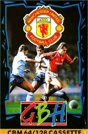 Box cover for Manchester United on the Commodore 64.