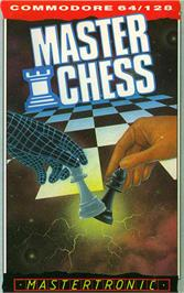 Box cover for Master Chess on the Commodore 64.
