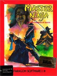 Box cover for Master Ninja: Shadow Warrior of Death on the Commodore 64.