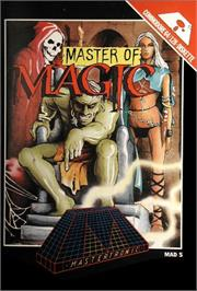 Box cover for Master of Magic on the Commodore 64.