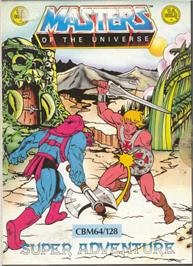 Box cover for Masters of the Universe: Super Adventure on the Commodore 64.