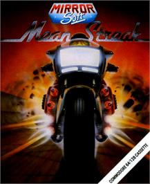 Box cover for Mean Streak on the Commodore 64.