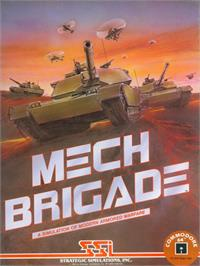 Box cover for Mech Brigade on the Commodore 64.