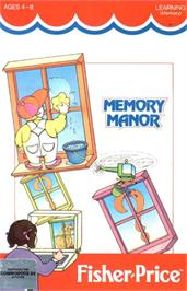 Box cover for Memory Manor on the Commodore 64.