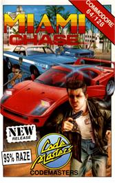 Box cover for Miami Chase on the Commodore 64.