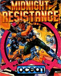 Box cover for Midnight Resistance on the Commodore 64.
