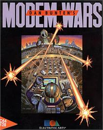 Box cover for Modem Wars on the Commodore 64.