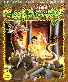 Box cover for Moonshadow on the Commodore 64.