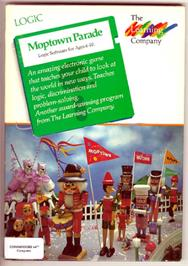 Box cover for Moptown Parade on the Commodore 64.