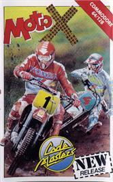 Box cover for Motocross on the Commodore 64.
