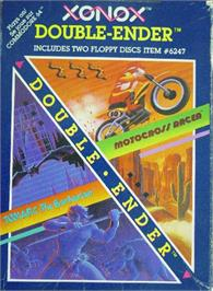 Box cover for Motocross Racer on the Commodore 64.