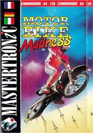 Box cover for Motorbike Madness on the Commodore 64.