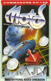Box cover for Motos on the Commodore 64.