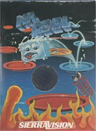 Box cover for Mr. Cool on the Commodore 64.