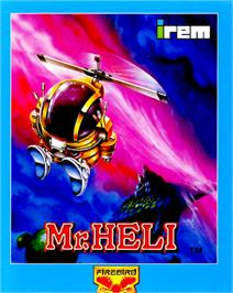 Box cover for Mr. Heli on the Commodore 64.
