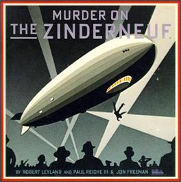 Box cover for Murder on the Zinderneuf on the Commodore 64.