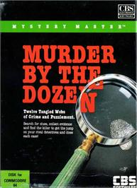 Box cover for Mystery Master: Murder by the Dozen on the Commodore 64.