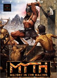 Box cover for Myth: History in the Making on the Commodore 64.