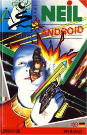 Box cover for NEIL Android on the Commodore 64.