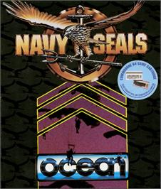 Box cover for Navy Seal on the Commodore 64.