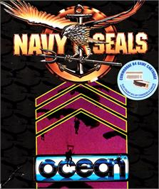 Box cover for Navy Seals on the Commodore 64.