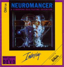 Box cover for Neuromancer on the Commodore 64.