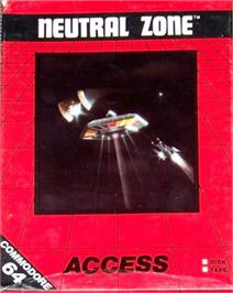 Box cover for Neutral Zone on the Commodore 64.