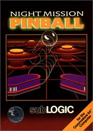 Box cover for Night Mission Pinball on the Commodore 64.