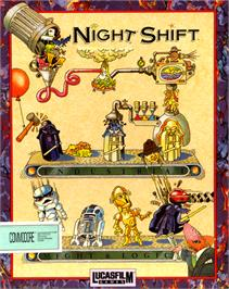 Box cover for Night Shift on the Commodore 64.