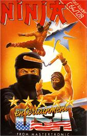 Box cover for Ninja on the Commodore 64.