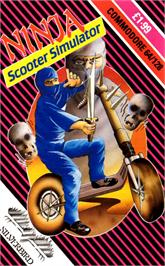 Box cover for Ninja Scooter Simulator on the Commodore 64.