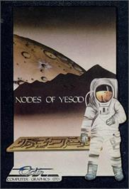Box cover for Nodes of Yesod on the Commodore 64.