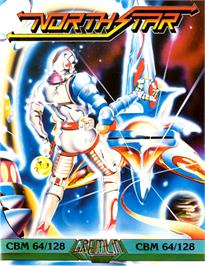 Box cover for NorthStar on the Commodore 64.