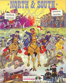 Box cover for North & South on the Commodore 64.