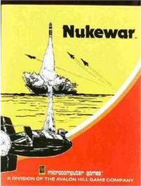 Box cover for Nukewar on the Commodore 64.