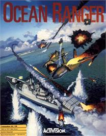 Box cover for Ocean Ranger on the Commodore 64.