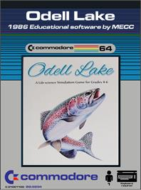 Box cover for Odell Lake on the Commodore 64.