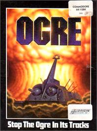 Box cover for Ogre on the Commodore 64.