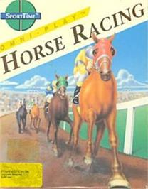 Box cover for Omni-Play Horse Racing on the Commodore 64.