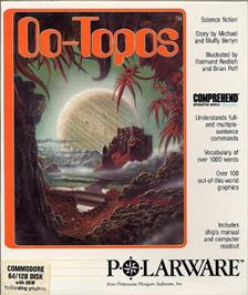 Box cover for Oo-Topos on the Commodore 64.