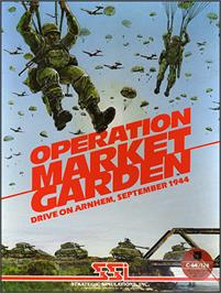 Box cover for Operation Market Garden: Drive on Arnhem, September 1944 on the Commodore 64.