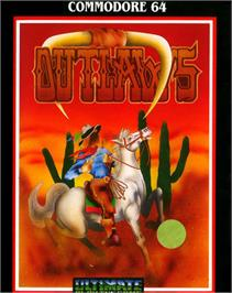 Box cover for Outlaws on the Commodore 64.