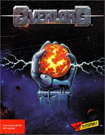 Box cover for Overlord on the Commodore 64.